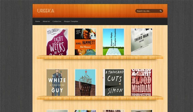 Ureeka Blogger Template