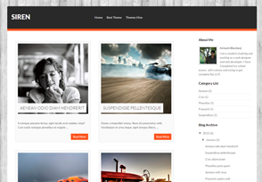 Siren Blogger Template